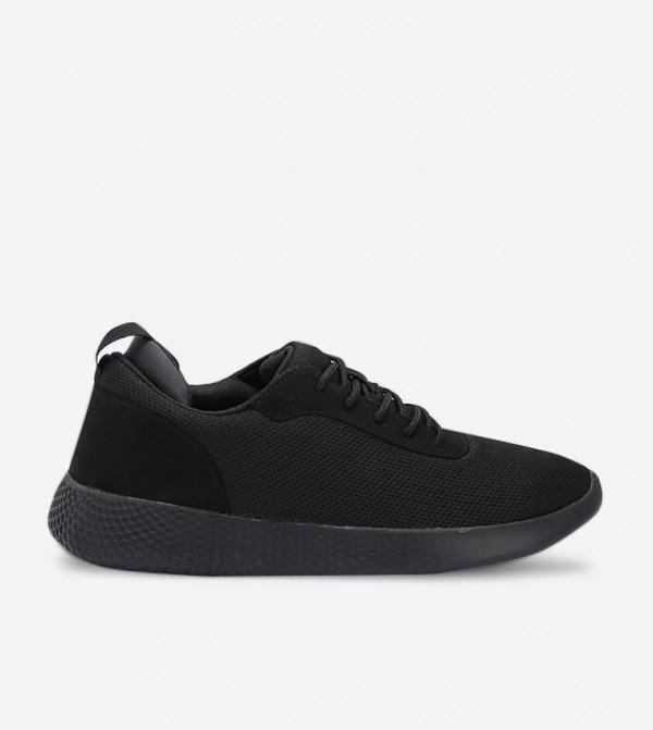 حذاء بيرين برباط للإغلاق من لون أسود