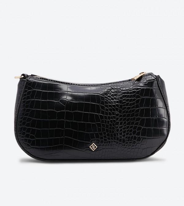 حقيبة كروس بودي بلون أسود