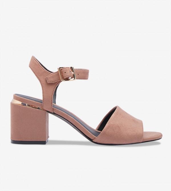 Block Heel Sandals - Pink 30ISSE