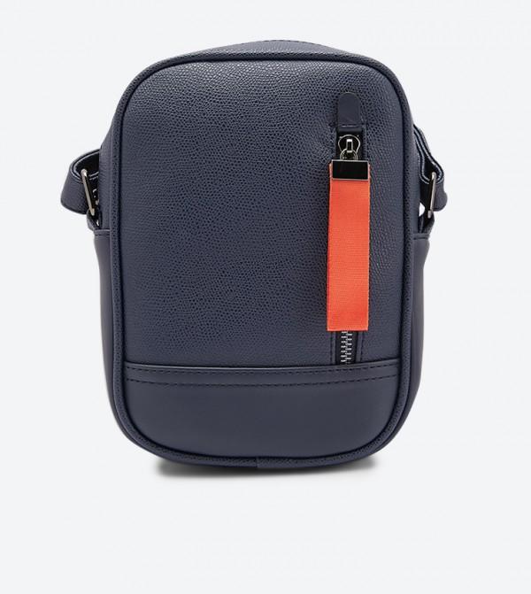 حقيبة كنزو مع حمالة كتف لون أزرق