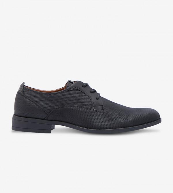 Lace-Up Formal Shoes - Black 30OBTECTUS