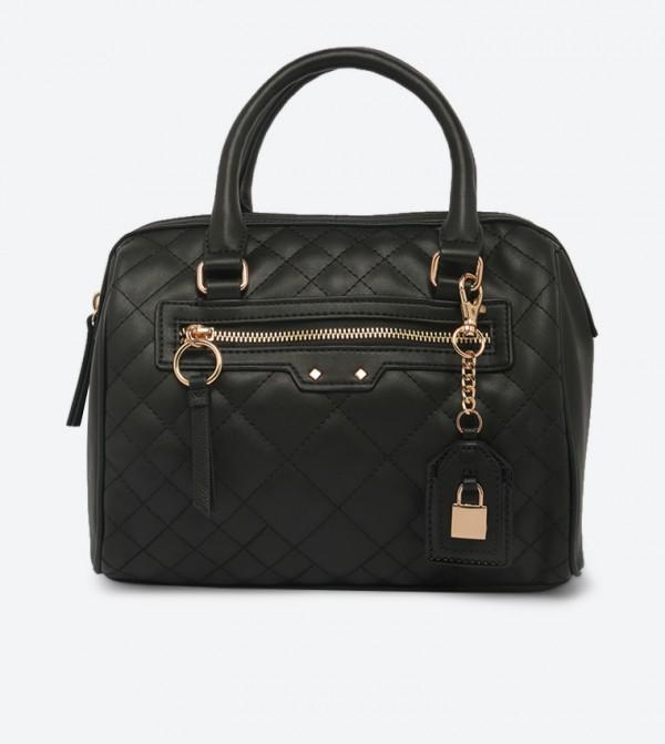 حقيبة كروس فيجيناري بمقبض علوي مزدوج مع سحاب للإغلاق