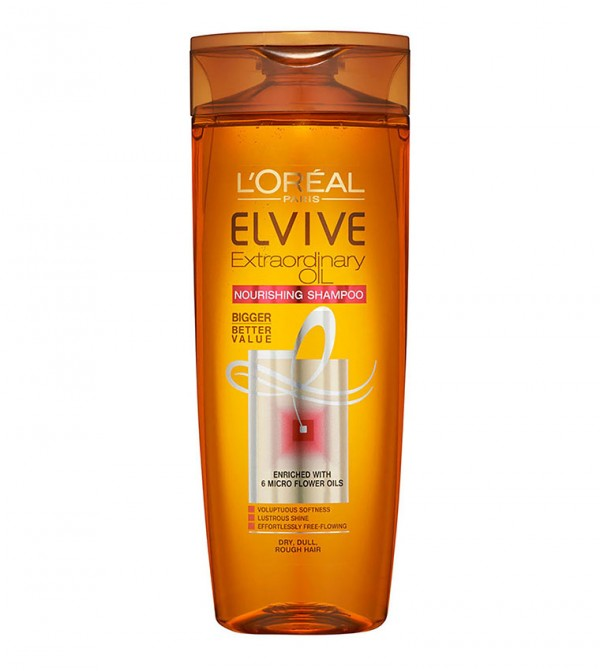 L'Oreal Paris Elvive Extraordinary Oil Shampoo 200ml for Dry Hair