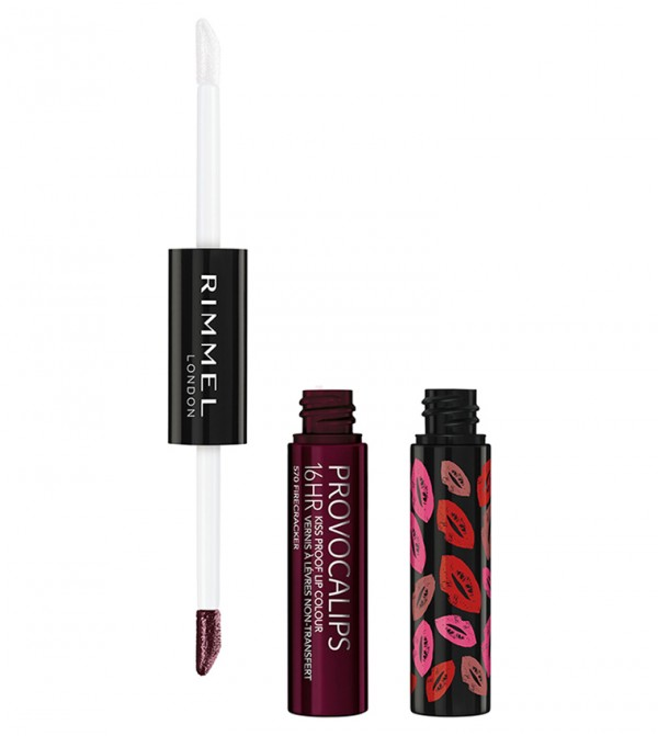 Provocalips 16Hr Kissproof Lip Colour 570 Firecracker 7Ml - Red