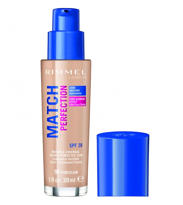 Match Perfection Foundation 90 Porcelain 30 Ml - Pink