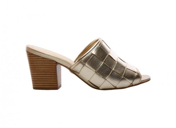 Ouro Claro Mid Heel