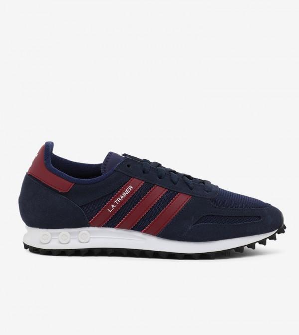 B37831 Sneakers-Nvy/Burg/Drkblu