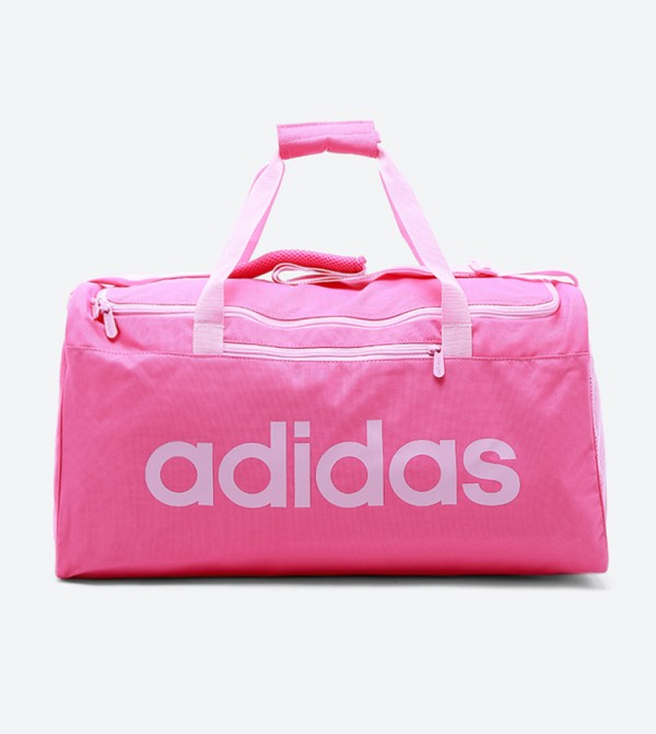 Linear Core Duffel Bag M-Semi Solar Pink/True Pink/True Pink