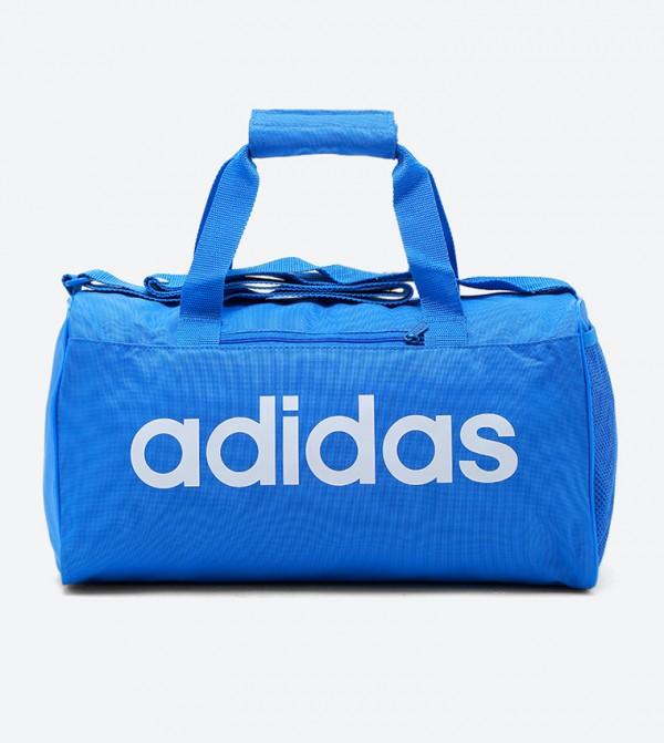 Linear Core Duffel Bag M-True Blue/True Blue/White