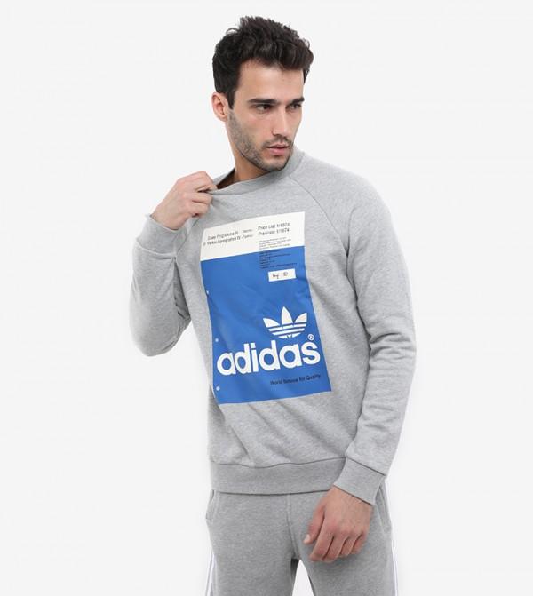 Sweatshirt For Men - Grey