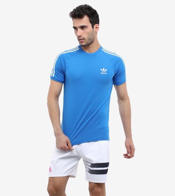 Short Sleeve T-Shirt For Men - Blue