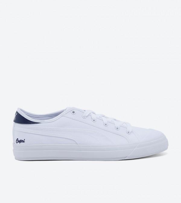Capri White-Peacoat-White