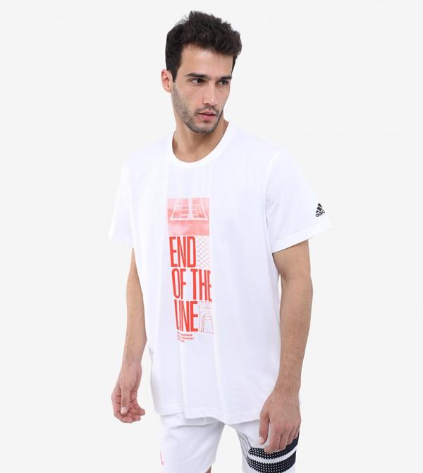 T-Shirt For Men - White