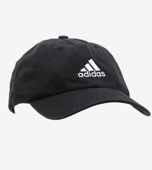 قبعة لينة مزينة بشعار الماركة