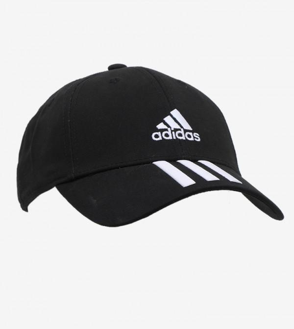 Bball 3S Cap Ct - Black/White/White