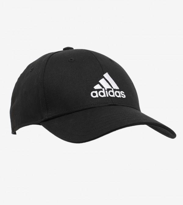 قبعة بيسبول من القطن مزينة بشعار الماركة
