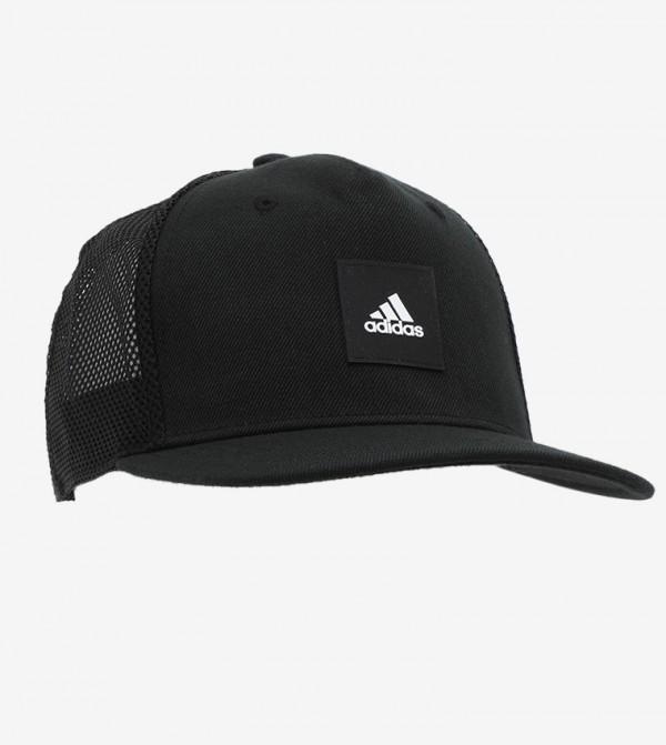 Snaptrucker Cap - Black/Black/White
