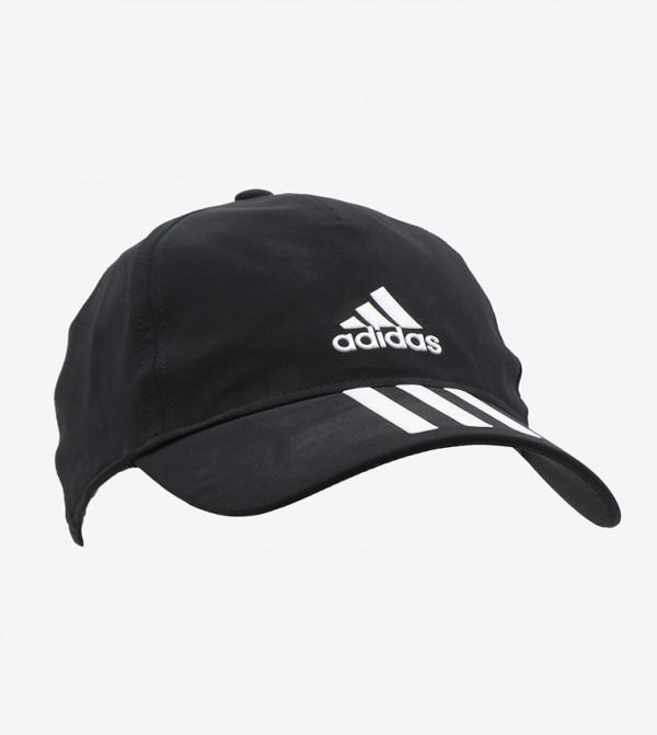 قبعة بيسبول بتصميم ديناميكي مزينة بثلاثة خطوط وشعار الماركة
