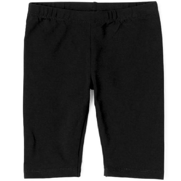 Solid Capri Leggings - Black
