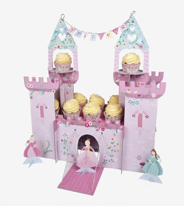 I'M A Princess Castle Shape Centrepiece - Pink