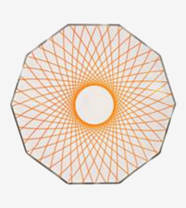 Toot Sweet Neon Spiro Plates Set (8 Pcs) - Multi