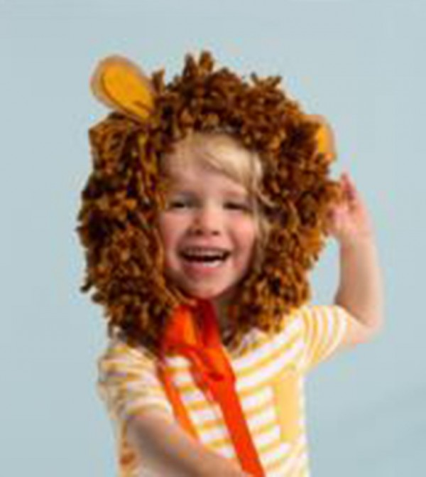 Party Wearable Lion Mane - Brown
