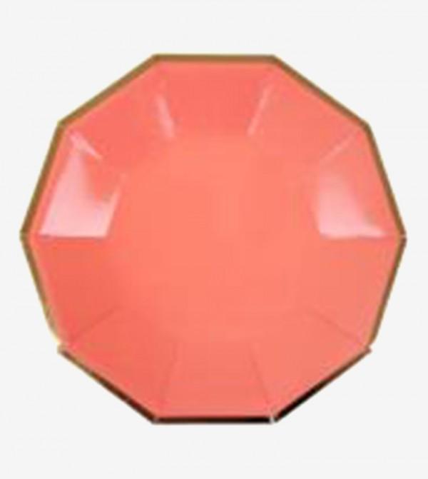 Small Neon Plates Set (8 Pcs) - Multi