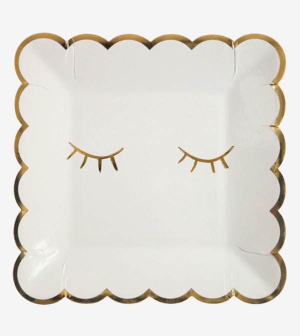 Blink Plates Small Set (8 Pcs) - White