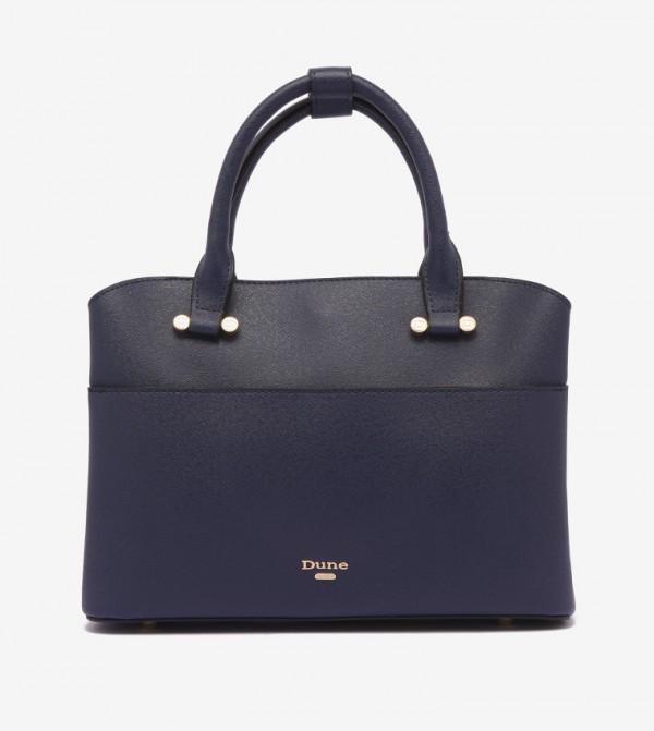 حقيبة لون أزرق