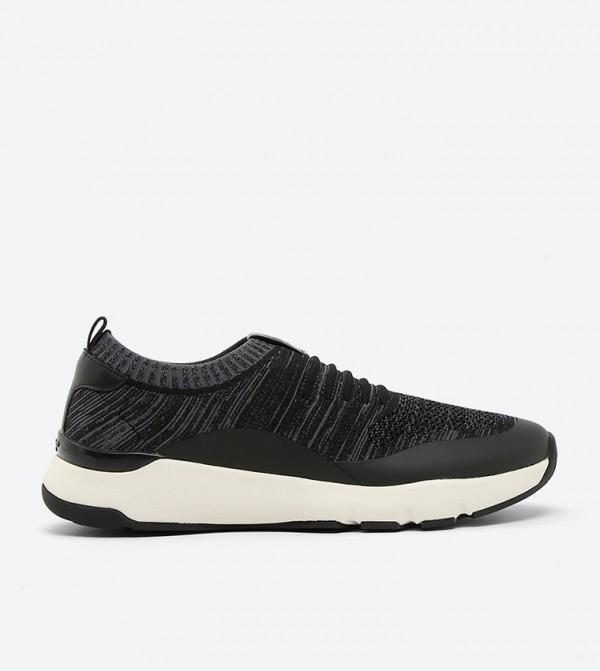 Easy Equinoxx Fabric Sneakers - Black