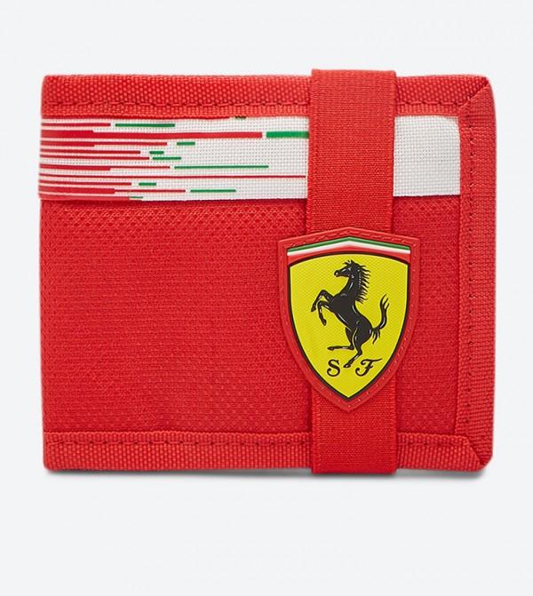 Bi-Fold Multi Slot Replica Wallet - Red