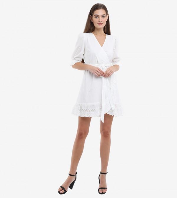 فستان لف قصير