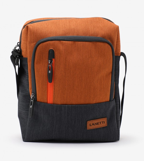حقائب المراسلين Bmr-S-043-15-03- برتقالي غامق