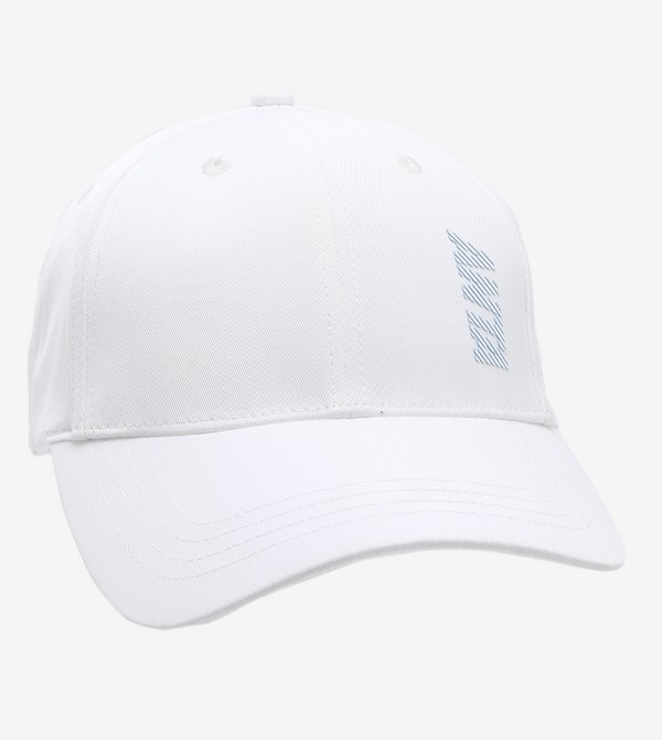 قبعة - ابيض