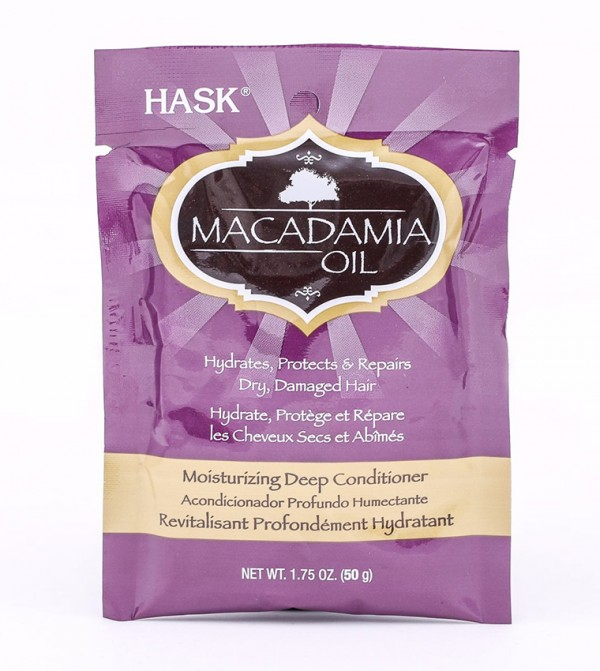 Hask Macadamia Oil Hydrating Deep Conditioning Hair Treatment 50G