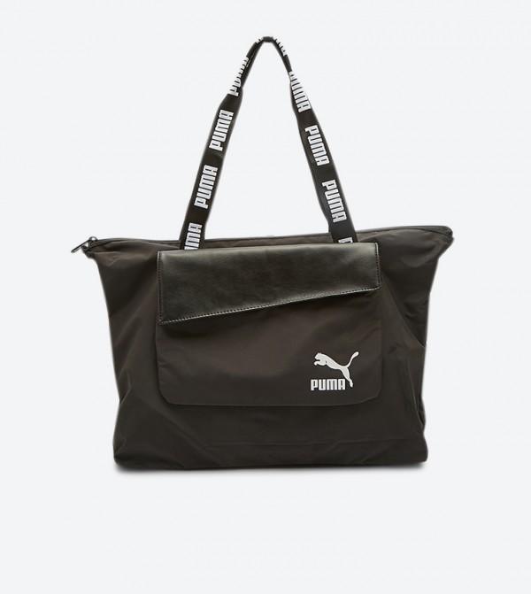 Prime 2-In-1 Shopper Bag - Black