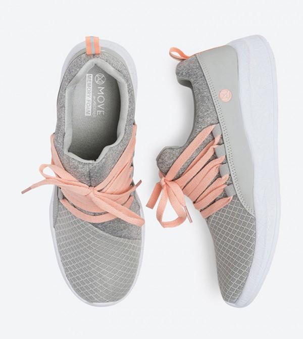 Lightweight Runner Move Sneakers - Grey