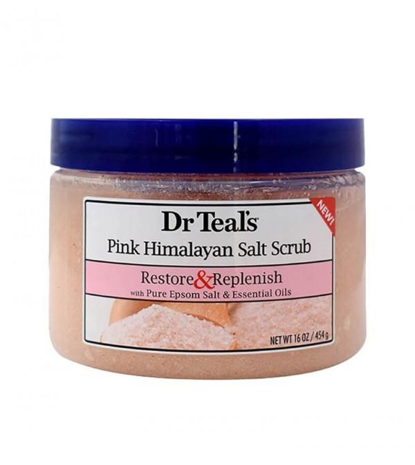 Dr Teal'S Epsom Salt Body Scrub - Pink Himalayan 454H