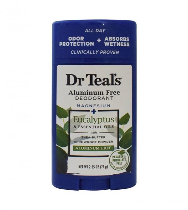 Dr Teal'S Eucalyptus Aluminium Free Deo 75H