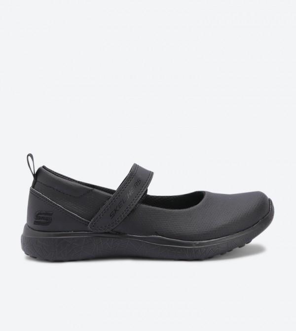 حذاء باليرينا مدرسي - أسود