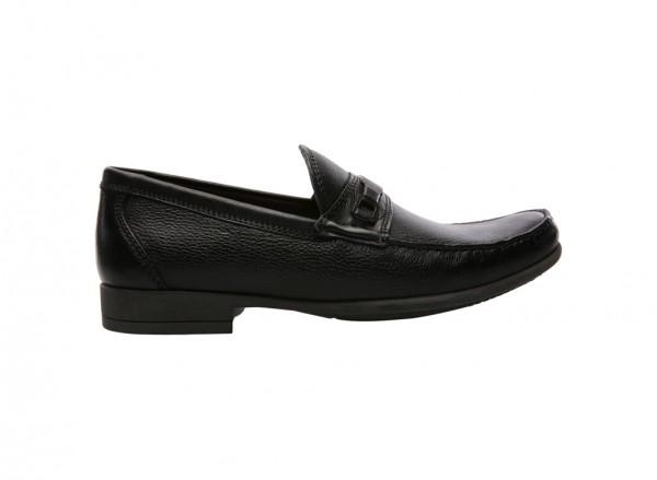 Lins Black Slip-Ons - 838305