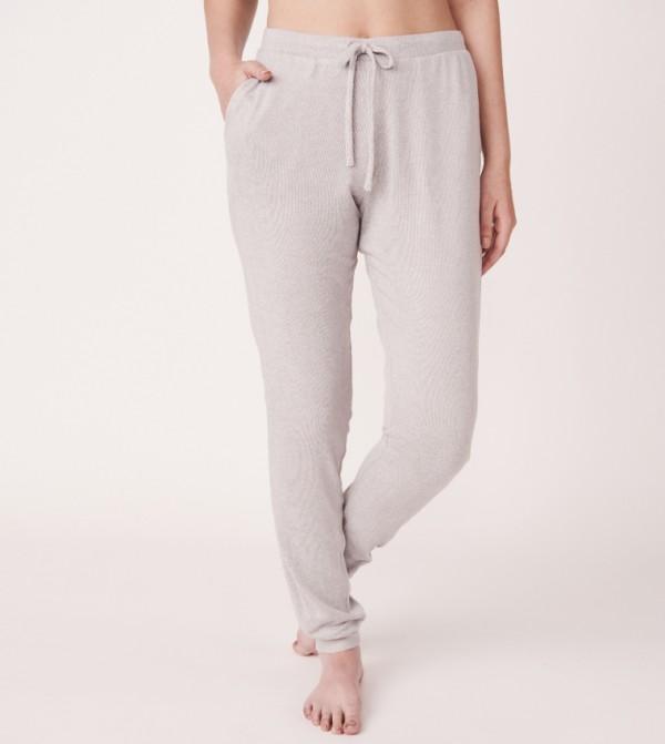 Slim Leg Pant - Silver