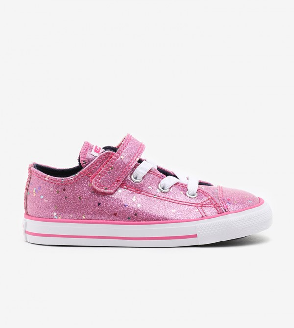 Pink Sneakers For Unisex Kids