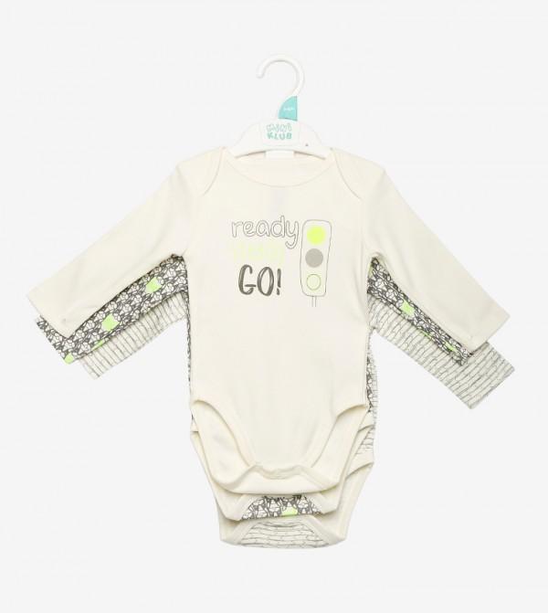 Bright Color Printed Bodysuit-Multi