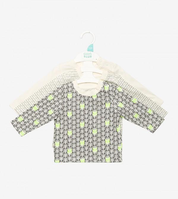 Bright Color Printed T-Shirt-Multi