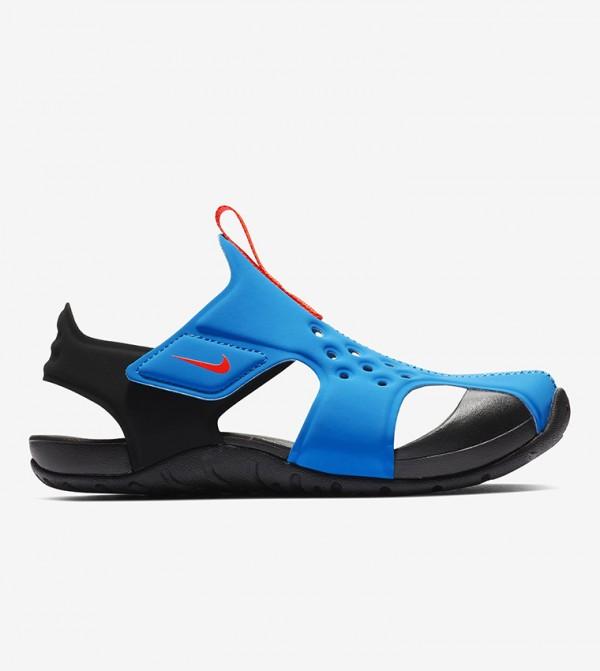 Comfort Back Closure Sandals - Blue