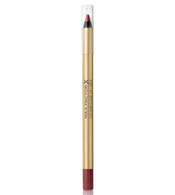 Max Factor Colour Elixir Lip Liner, 6 Mauve Moment, 1.2 g