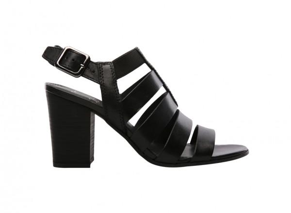 A-Montage Black Mid Heel