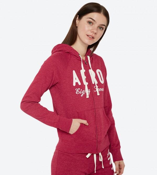 Aeropostale Girls Full-Zip Hoodie