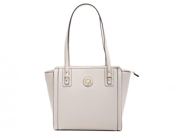 Anne Klein Front Runner Handbag Shopper Sm For Women - Man Made White